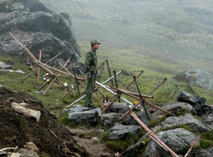 ブータン 中国 サクテン野生生物保護区 国境 侵略