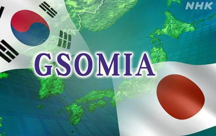 1年毎に延長のGSOMIA、今年の延長終了通告日が一週間後に迫る … 韓国外交部「GSOMIAは韓国政府がいつでも終了でき、1年毎に延長するという概念は現在適用されていない」