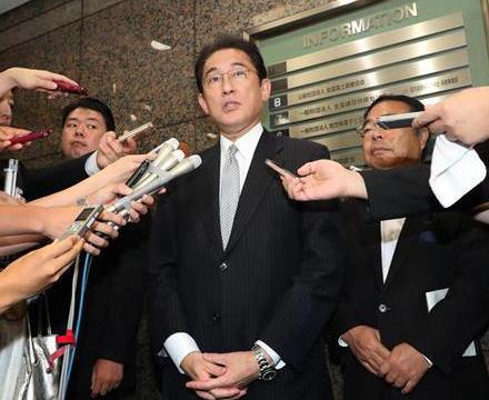 岸田文雄政調会長、自民党の総裁選出馬を明言 … 出馬する考えを聞かれ「はい」 菅vs岸田 事実上の一騎打ちへ