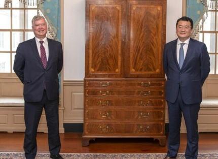 韓国外交部 「アメリカとの『同盟対話』の新設に合意したニダ」→ 米国 「そんな対話に同意した事はない。おそらく今後もやらないだろう」 … 資料にも「同盟対話」についての記載は無し、またいつものパターンに