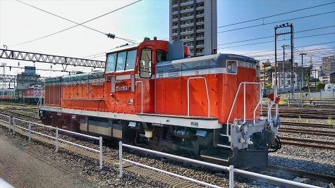 DE11 ディーゼル機関車【水戸駅】