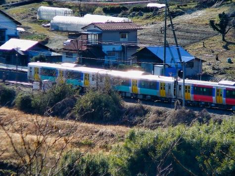 JR 水郡線 下小川駅付近
