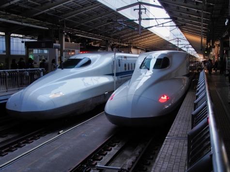東海道新幹線 N700系 のぞみ【東京駅】