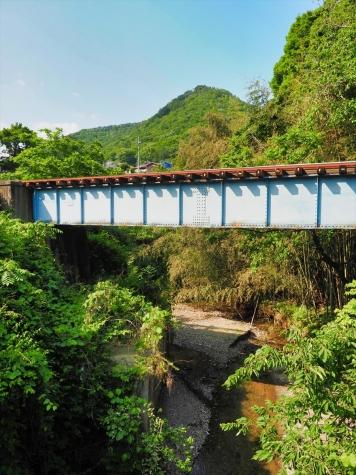 水郡線 湯沢川橋梁