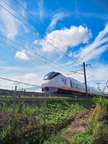JR常磐線 E657系 電車【土浦運輸区付近】