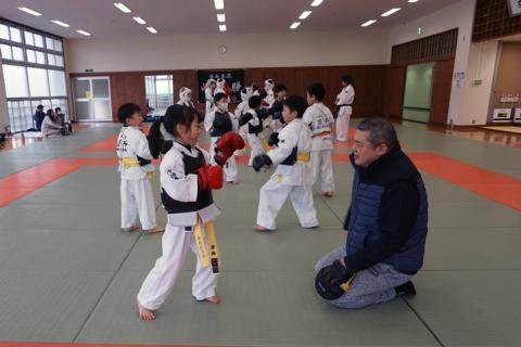 愛媛県連盟強化練習(2月-1)