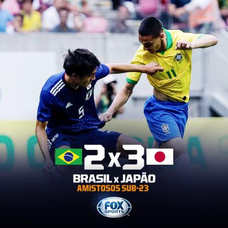 Brasil sub-23 2_3 Japão sub-23
