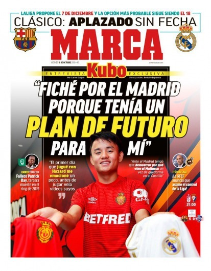 Takefusa Kubo opens up on why he swapped Barcelona for fierce rivals Real Madrid