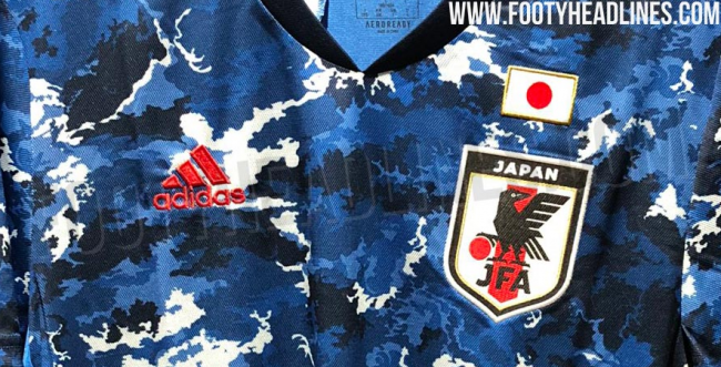 Japan 2020 Home Kit for tokyo olympic
