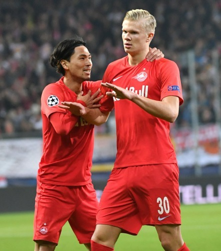 RB Salzburg 2-3 Napoli UEFA Champions League, Round 3