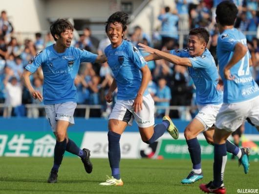 Shunsuke Nakamura (41 years old) great goal (Yokohama FC v Tokyo Verdy)