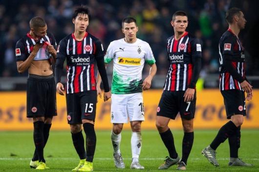 Borussia MG 4-2 Eintracht Frankfurt kamada 2 assists