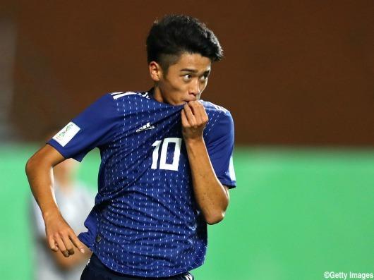 SEN 0_1 JPN U17WC Nshikawa goal
