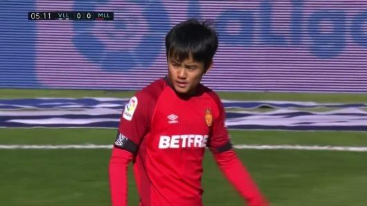 real valladolid 1-0 Mallorca kubo