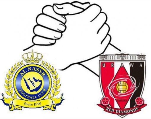 Al Nassr fans supprt urawa reds