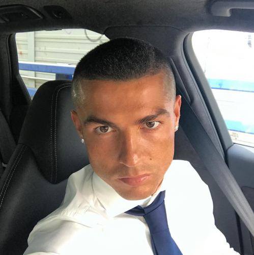 Ronaldo looks mou