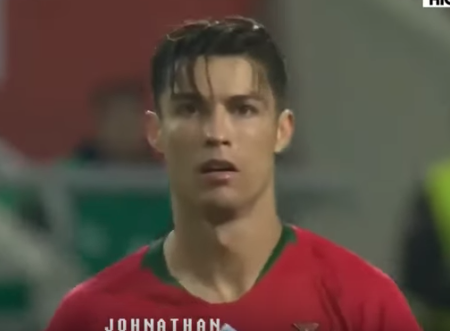 Ronaldo looks so young