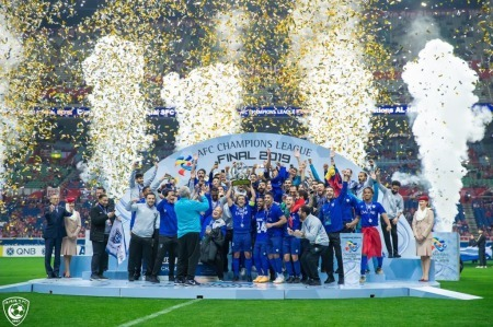 Al Hilal has won the 2019 AFC Champions League