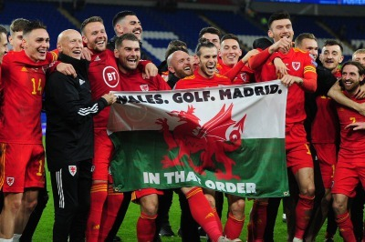 Bale Wales golf Madrid In that order