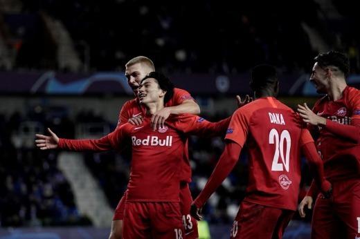 Genk 0-2 RB Salzburg Takumi Minamino goal