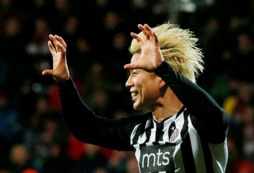 AZ Alkmaar 0-1 Partizan Takuma Asano goal