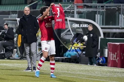 AZ Alkmaar-VVV Venlo 1-0 Sugawara goal