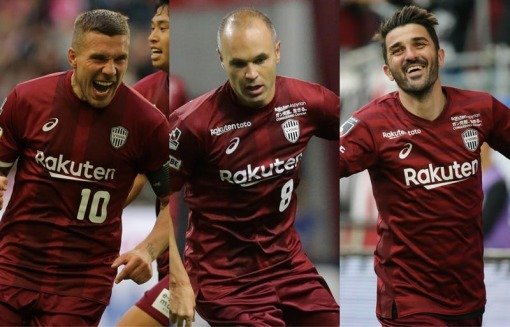 Vissel Kobe - a Japanese mid-table team with world class players