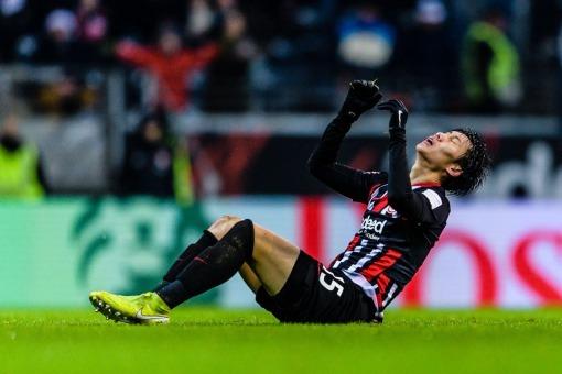 daichi kamada eintracht frankfurt goal disallowed