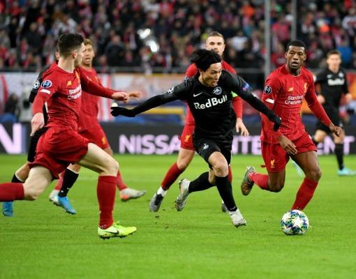 RB Salzburg 0-2 Liverpool minamino