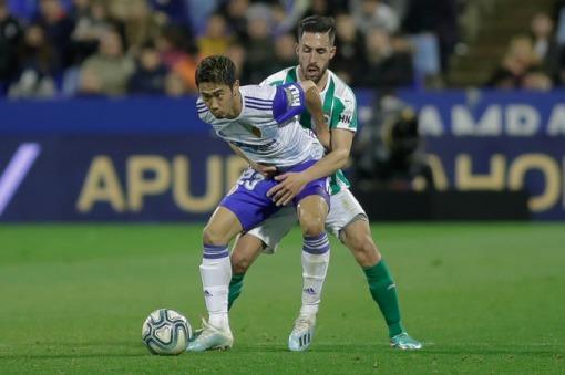 El control de Kagawa en el gol, la jugada Merkur del Zaragoza-Racing