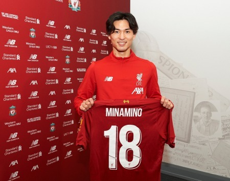 Liverpool sign Takumi Minamino from Red Bull Salzburg
