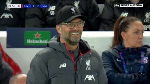 klopp face as he really wanted to take minamino to Liverpool