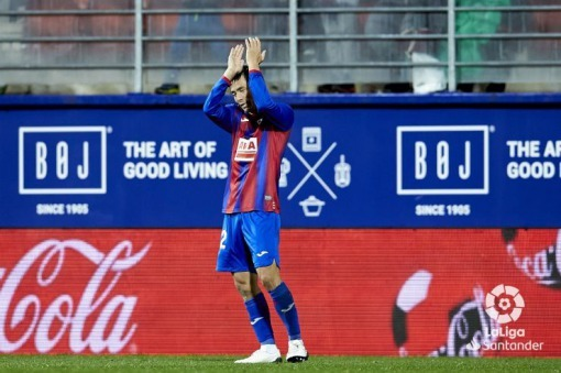 Takashi Inui scored his first goal this season for SDEibar 2019