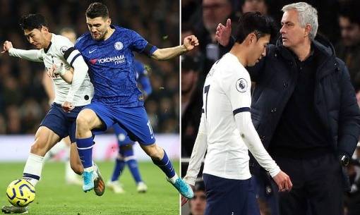 Tottenham appeal against Son Heung-mins red card in defeat by Chelsea