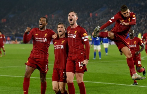 Leicester 0-4 Liverpool 2019