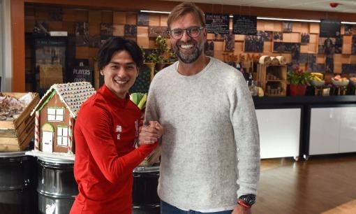 Welcome to Liverpool Minamino takumi