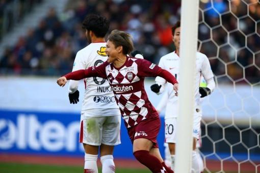Noriaki Fujimoto 2 goals Vissel Kobe 2-0 Kashima Antlers