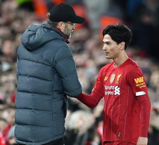 Jurgen Klopp heaps praise on Liverpool debutant Takumi Minamino