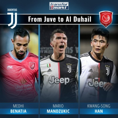 AlDuhail complete the signing of a third Juventus player inside a year