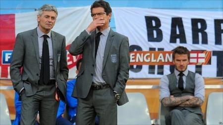 World Cup 2010 David Beckham the 24th man without a job