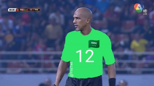 Referee is man of the match Saudi 1-0 Thailand AFCU23