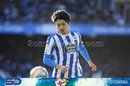 Gaku Shibasaki assists goal agaist Cadiz
