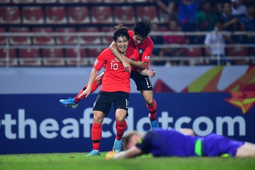 korea on their way to the final afcU23 2020