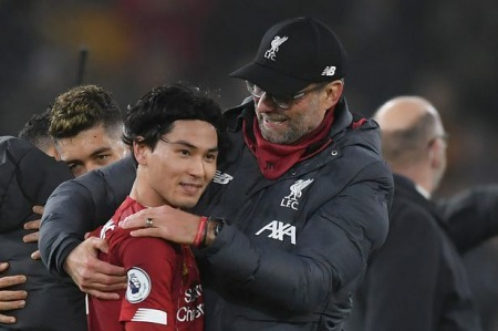 Klopps verdict on Takumi Minaminos Premier League debut for Liverpool