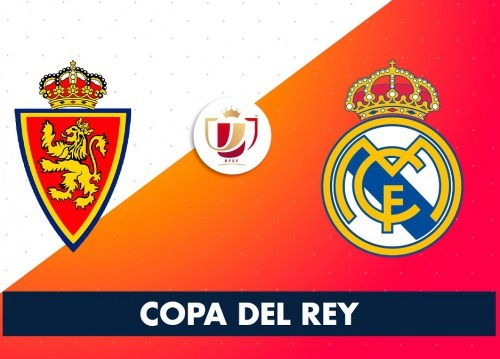 Copa del Rey draw round of last 16 Real Zaragoza (Segunda) vs Real Madrid