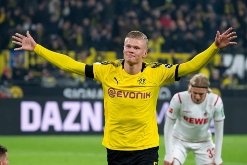 Dortmund star Haaland smashes Bundesliga record with Koln double