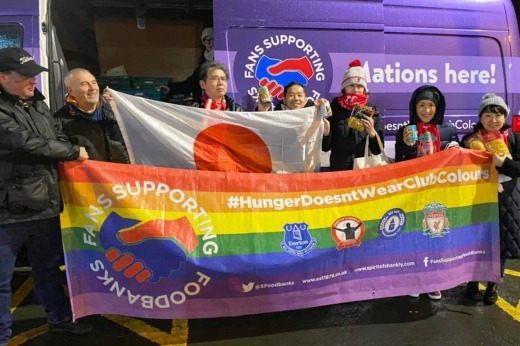 How Liverpool Japanese supporters group help food banks on Merseyside