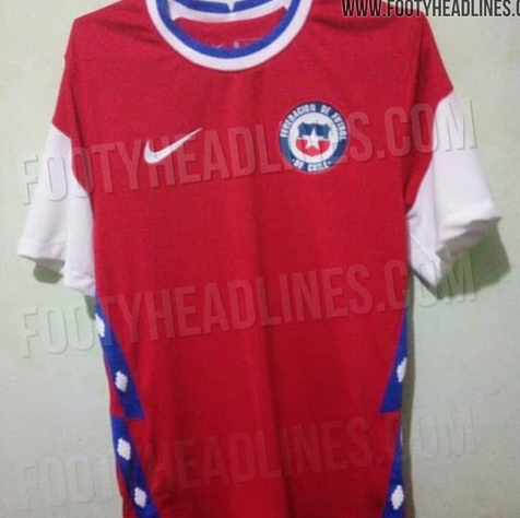 Nike Chile 2020 Home Jersey