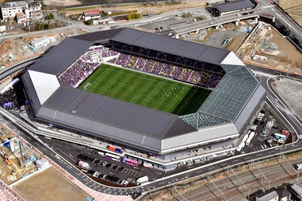 Kyoto Sanga, Sanga Stadium by Kyocera Located in Kameoka