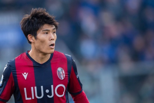 Tomiyasu could already play for United Sabatini, director of Bologna
